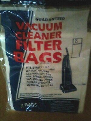 Serie Filter Bag (10 VACUUM CLEANER FILTER BAG EUREKA UPRIGHTS USING BAG STYLE AA 4300/4400 SERIES)