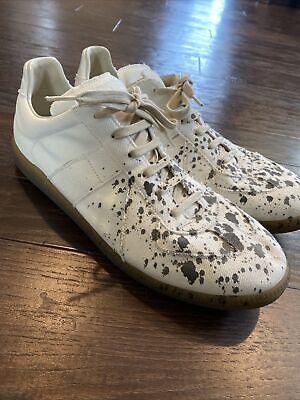 MAISON MARGIELA Paint Splatter Replica Sneakers Size 12