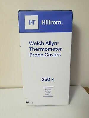 Brand New 250 Welch Allyn 05031 Oral Probe Covers Suretemp Plus 678 679 690 692