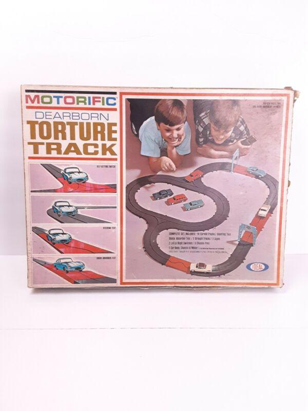 VTG Ideal Motorific Dearborn Torture Track set W/Box 1965