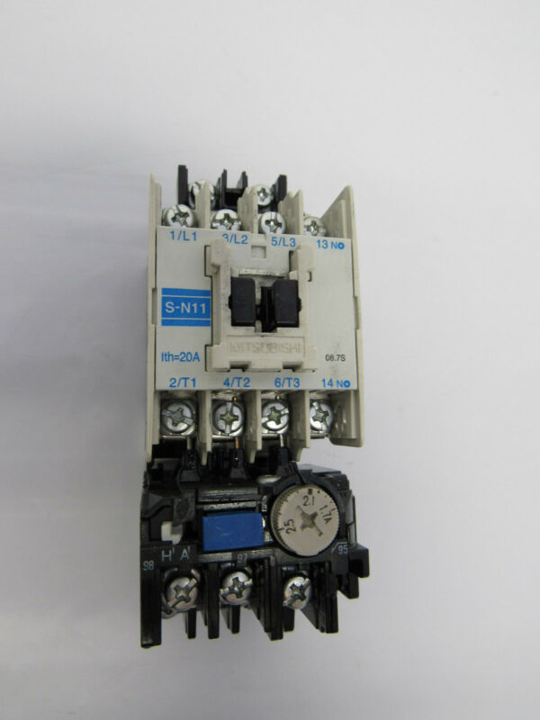 MITSUBISHI S-N11 MAGNETIC CONTACTOR
