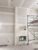 Professional interior painter and drywall taper available!