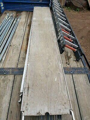 Werner Aluma-plank 10 Aluminum Scaffold Planks With Plywood Deck
