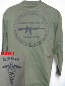 ARMY-MEDIC-T-SHIRT-MILITARY-AFGHANISTAN-COMBAT-OPERATIONS-T-SHIRT-NEW