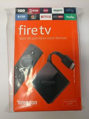 Amazon - Fire TV with 4K Ultra HD and Alexa Voice Remote - Black