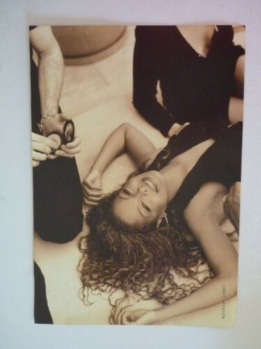 Janet Jackson Whoopi Goldberg Double Sided Coffee Table Book Photo Page 9x13