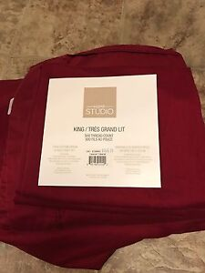 King Sheet Set EUC