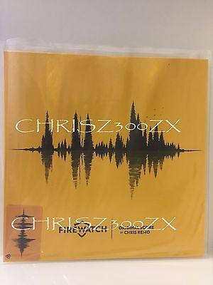 Firewatch Ps4 Video Game Vinyl Record Soundtrack 12  Lp Original Score Music