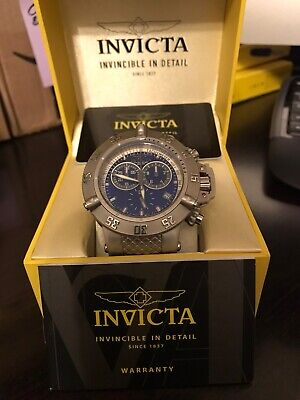 INVICTA SUBAQUA NOMA III 5512 MENS 50mm SWISS MADE CHRONOGRAPH