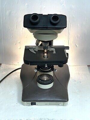 Nikon Labophot 2 Microscope With Objectives.   12841