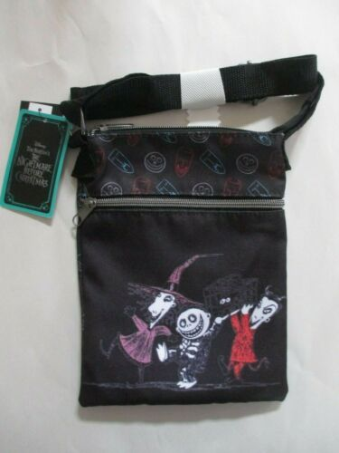 Loungefly Disney The Nightmare Before Christmas Passport Crossbody Bag Purse