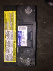 ACDELCO BATTERY & Honda after market part