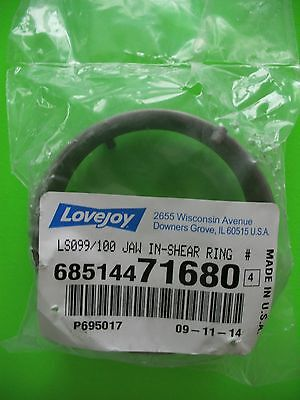 Lovejoy Ls099100 Jaw In-shear 6 Pin Stainless Steel Locking Ring 685144 71680