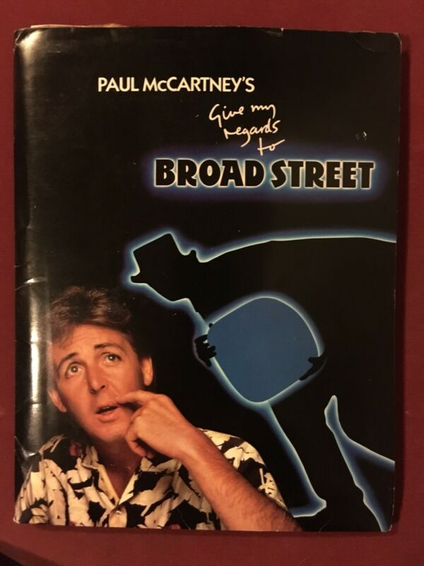 PAUL McCARTNEY -Give My Regards To Broad Street RARE PRESS KIT