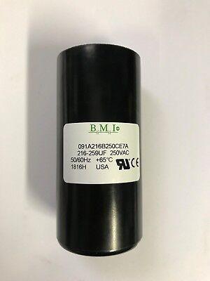 216-259 Uf 250 Vac Capacitor 091a216b250ce7a L1410t Same As Baldor Ec1216c06sp