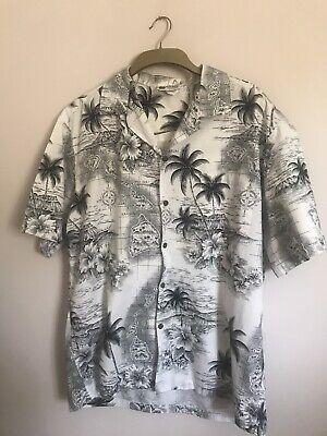 VINTAGE MENS ALOHA REPUBLIC HAWAIIAN SHIRT - XL