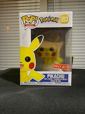 Funko Pop Pokemon Pikachu Target Exclusive Vinyl Figure NEW