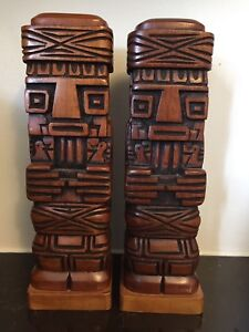 Native Indian book ends/ statues