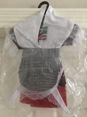 Girls Traditional WELSH COSTUME SET, 6-12mths  Wales - St David's Day Kostüm