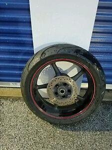 Yamaha R6 Rear Wheel Tire Rotor Brembo Master Caliper Chain Sprocket Brake Line