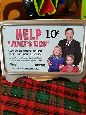 Ford gumball machine  Ad Frame Jerry's kids 10 cent MDA Old AD frame