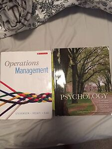 Comm 205  and Psy 120/121 textbooks