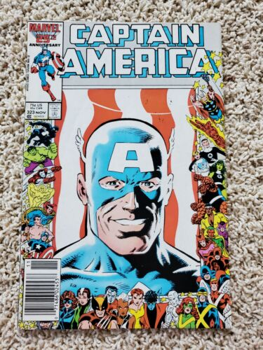 CAPTAIN AMERICA #323 (Marvel Comics 1986) 1st App JOHN WALKER US Agent NEWSSTAND