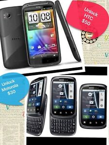 Unlock HTC & Motorola android phone,excellent condition