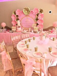 Special occasion? Mini Banquet hall feel in party hall style