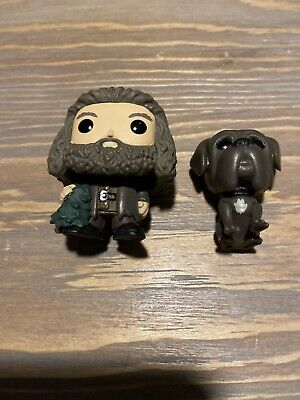 Harry Potter Funko 2020 Advent Calendar Rebeus Hagrid & Fang The Dog Pocket Pops