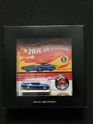 Hot Wheels RLC Redline Club Original 16 CUSTOM BARRACUDA Very Low # (0380/6,000)