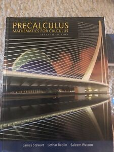 Precalculus Mathematics For Calculus Buy Sell Items From