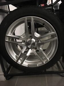 225/45/17 Gizlaved Nord Frost on alloy rims