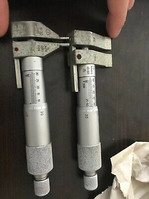 Used Ddr Inside Micrometers 5-30mm And 25-50mm
