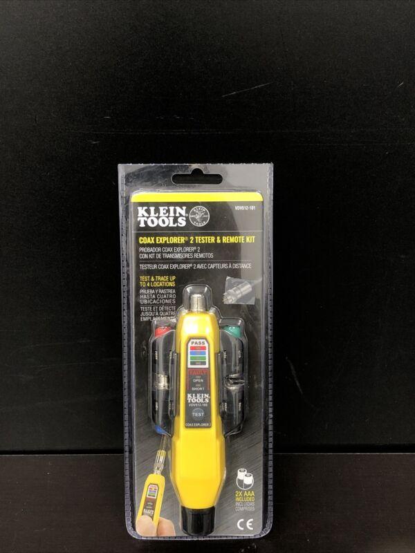 Klein Tools VDV512-101 Coax Explorer 2 Tester And Remote Kit