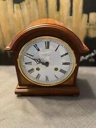 Franz HERMLE LIBERTY BARRISTER MECHANICAL MANTEL CLOCK 22857-N90130 No Key