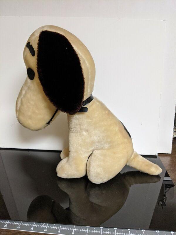 Vintage Peanuts Snoopy Plush Stuffed Animal. 1960s