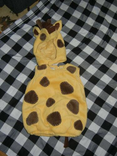 2p Pottery Barn Kids Size 2T/3T Giraffe Animal  Costume Halloween HTF
