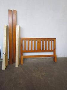 C44032 Nice Timber Queen Size Bed Frame Mount Barker Mount Barker Area Preview
