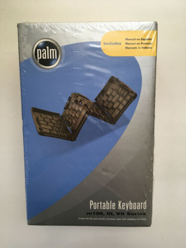 Portable Keyboard m100, III, VII Series for Palm Pilot IBM WorkPad, new, sealed