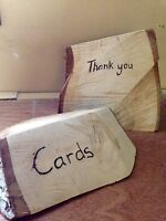 "Best offer on - ""Thank you"" and ""cards"" sign"