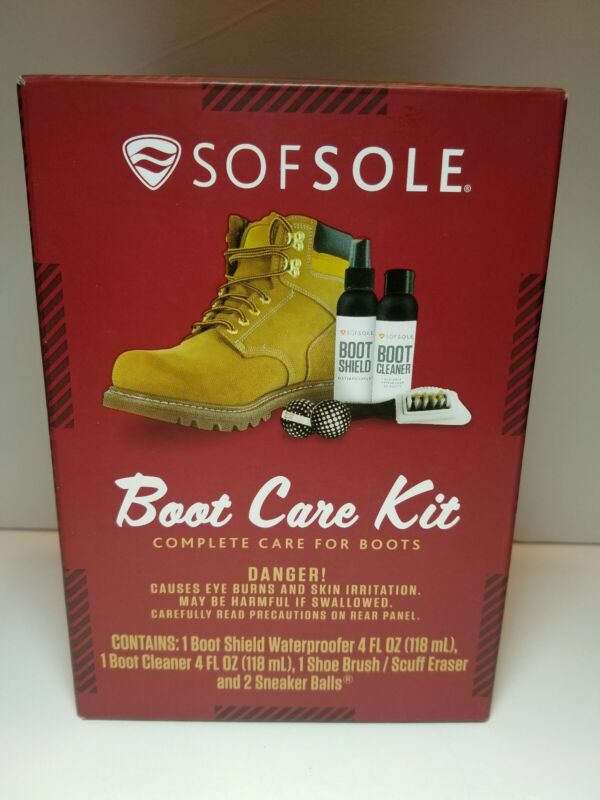 SOFSOLE COMPLETE BOOT CARE KIT- NEW UNOPENED