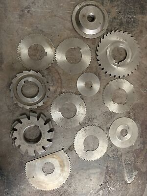 End Mill Side Cutter Various Lot Radius Flat Thin