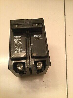 Eaton Cutler-hammer Br240 Br-series Circuit Breaker 2 Pole 40a 120240vac