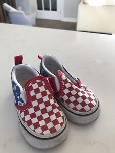 Vans shoes for toddlers used