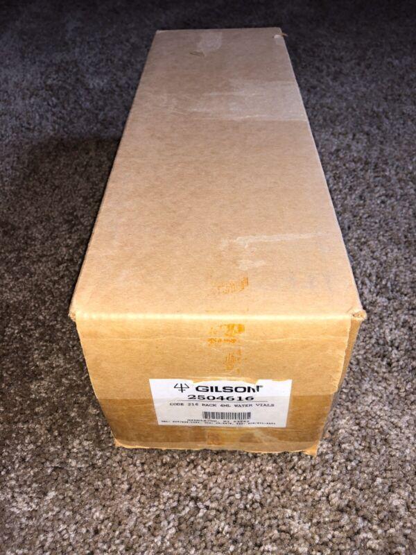 New Gilson 216 Racks, Liquid Handlers, 60-15x45 mm (4ml) WISP Vials