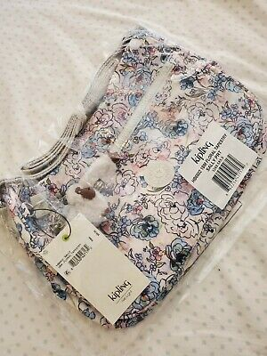 Kipling Floral Sally Crossbody Shoulder Bag Purse