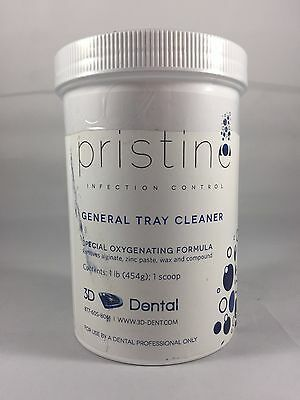 3d-dental Pristine Infection Control Formula Tray Cleaner Deodorizer 1lb