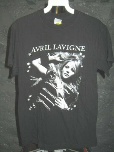 Avril Lavigne Classic Black The Best Damn Tour 2008 Small T-Shirt
