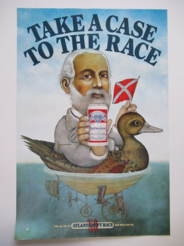 Rare 40 year old Budweiser poster